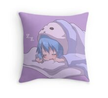 Sleeping soundly Throw Pillow