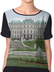Upper Belvedere, Vienna Austria Chiffon Top