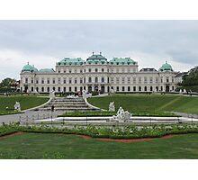 Upper Belvedere, Vienna Austria Photographic Print