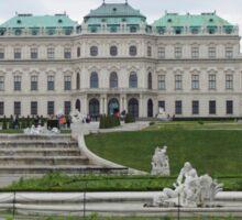 Upper Belvedere, Vienna Austria Sticker
