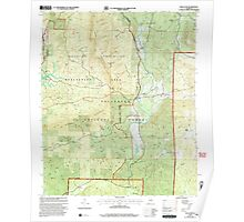 USGS TOPO Map Alabama AL Bulls Gap 303371 2001 24000 Poster