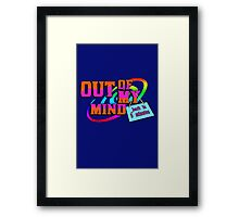 Out Of My Mind Funny Framed Print