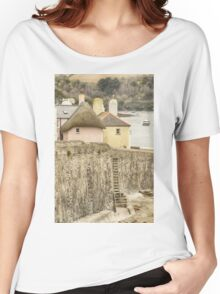 Thatched Cottage At St. Mawes Women's Relaxed Fit T-Shirt