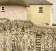 Thatched Cottage At St. Mawes Sticker