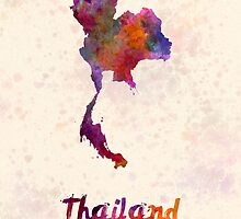 Thailand in watercolor by paulrommer