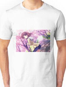 Nagisa Winter Uniform Colour - Clannad Unisex T-Shirt