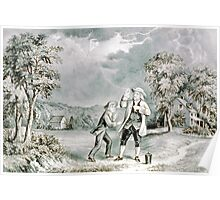 Franklin's experiment, June 1752 - 1876 - Currier & Ives Poster