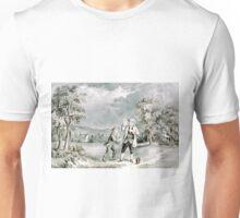 Franklin's experiment, June 1752 - 1876 - Currier & Ives Unisex T-Shirt