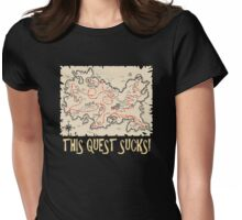 This Quest Sucks Womens Fitted T-Shirt
