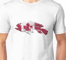 Canadian Fishing - Canada Flag - Maple Leaf Unisex T-Shirt