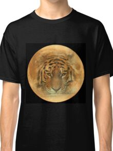 The Tiger in the Moon Classic T-Shirt