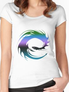 Colorful Dragon - Eragon Women's Fitted Scoop T-Shirt