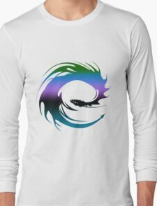 Colorful Dragon - Eragon Long Sleeve T-Shirt