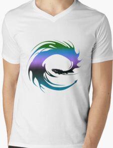 Colorful Dragon - Eragon Mens V-Neck T-Shirt