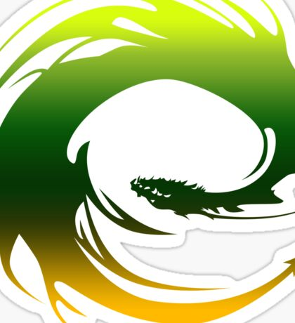 Green Dragon - Eragon Sticker