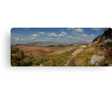 Birker Fell  - Eskdale Lake district cumbria.  Canvas Print