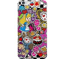 Alice in Wonderland Doodle Clothing Accessories iPhone Case/Skin