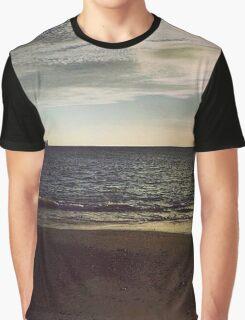 Alum Bay At Dusk Graphic T-Shirt