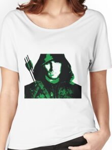 Green Arrow Women's Relaxed Fit T-Shirt