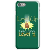Level Up iPhone Case/Skin