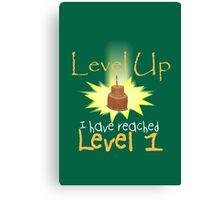 Level Up Canvas Print