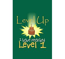 Level Up Photographic Print