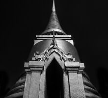 Golden Stupa by Michiel de Lange