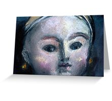 Doll Face#1 Greeting Card