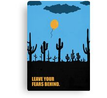 Leave Your Fears Behind - Corporate Start-Up Quotes Canvas Print