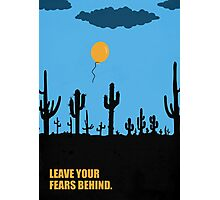 Leave Your Fears Behind - Corporate Start-Up Quotes Photographic Print