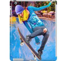 Skateboarding on Water iPad Case/Skin