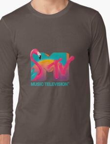 MTV Flamingo Long Sleeve T-Shirt