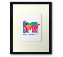 MTV Flamingo Framed Print