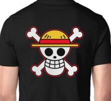 one piece straw hat Unisex T-Shirt