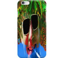 Hunter S Thompson-Gonzo Man iPhone Case/Skin