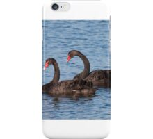 Just the two of us. iPhone Case/Skin