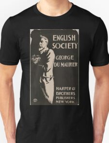 Artist Posters English society George Du Maurier 0778 Unisex T-Shirt