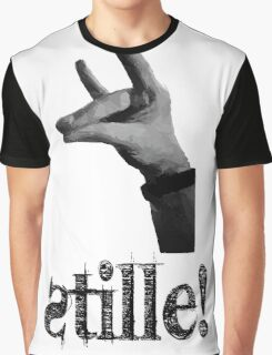 Stille! - Der stille Fuchs! Graphic T-Shirt