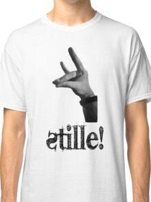 Stille! - Der stille Fuchs! Classic T-Shirt