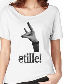 Stille! - Der stille Fuchs! Women's Relaxed Fit T-Shirt