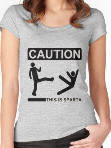 THIS IS SPARTA ! Women's Fitted Scoop T-Shirt