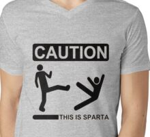 THIS IS SPARTA ! Mens V-Neck T-Shirt