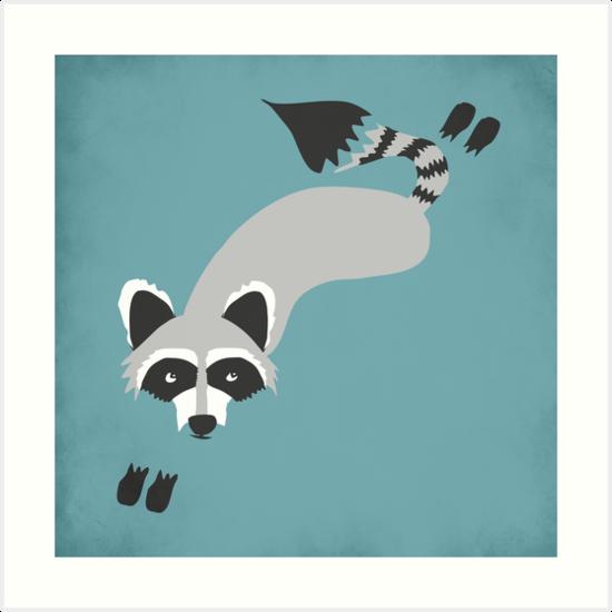 Robby Raccoon by Beth Thompson