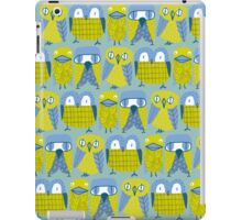 3 owls and a duck iPad Case/Skin