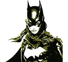 Batgirl Photographic Print