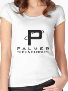 Palmer tech Women's Fitted Scoop T-Shirt