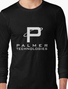 Palmer tech - White Long Sleeve T-Shirt
