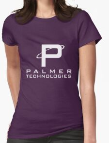 Palmer tech - White Womens Fitted T-Shirt