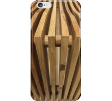 Timber Bench Lines iPhone Case/Skin