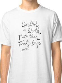 Peter Pan- One Girl Classic T-Shirt